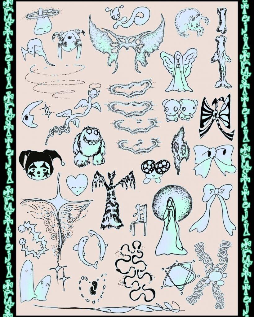chorareii_teji_tattoo_designs