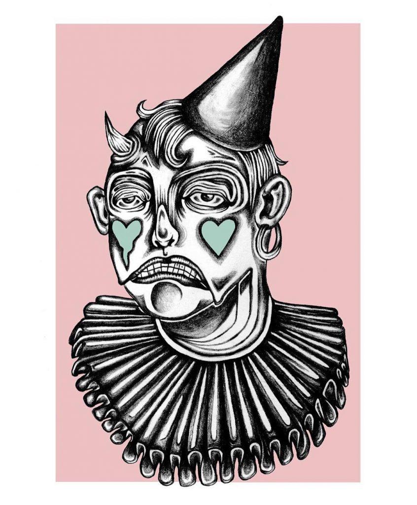 chorareii_amy_brereton_illustration_comic_clown