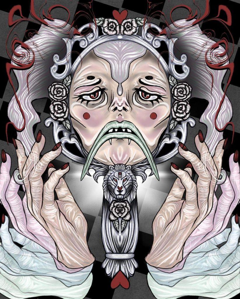 chorareii_amy_brereton_illustration_comic_horrorscopes_fanzine_leo
