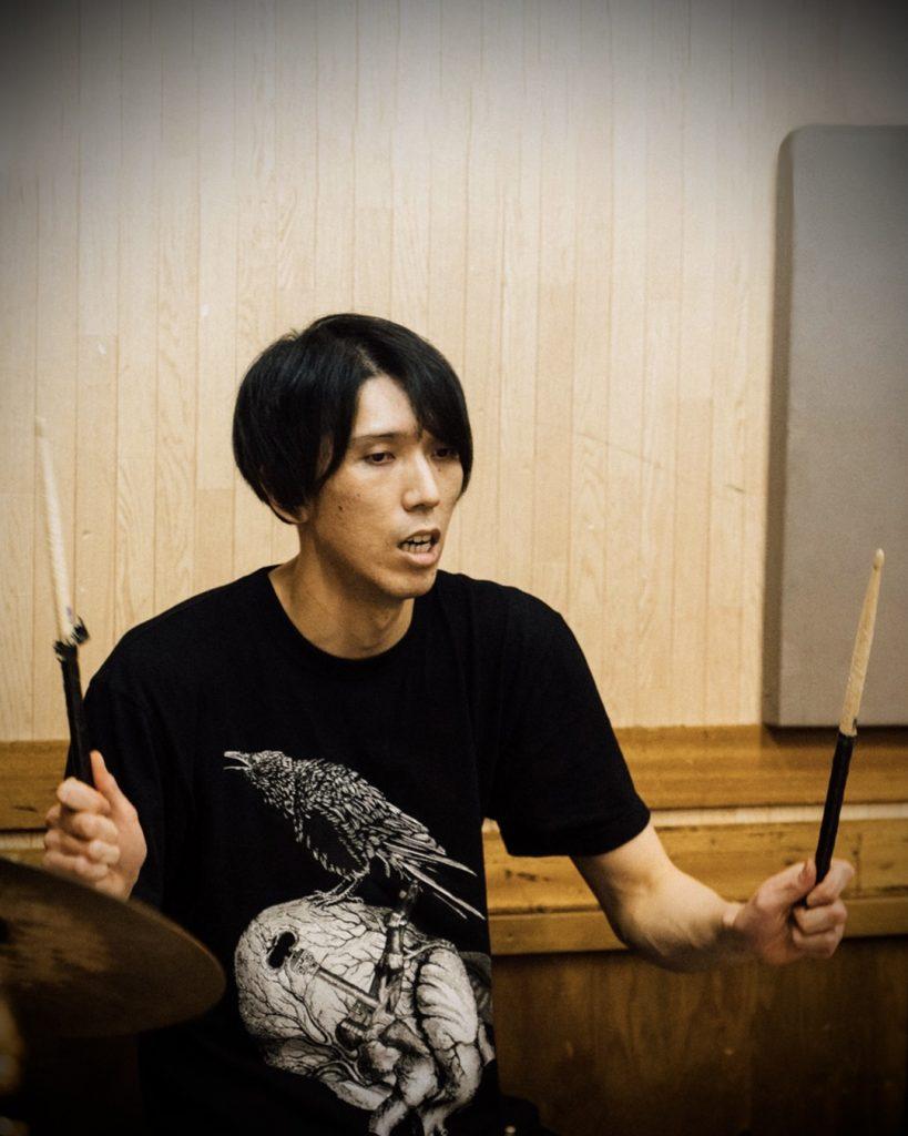 chorareii_soiledhate_powerviolence_ryo_drums