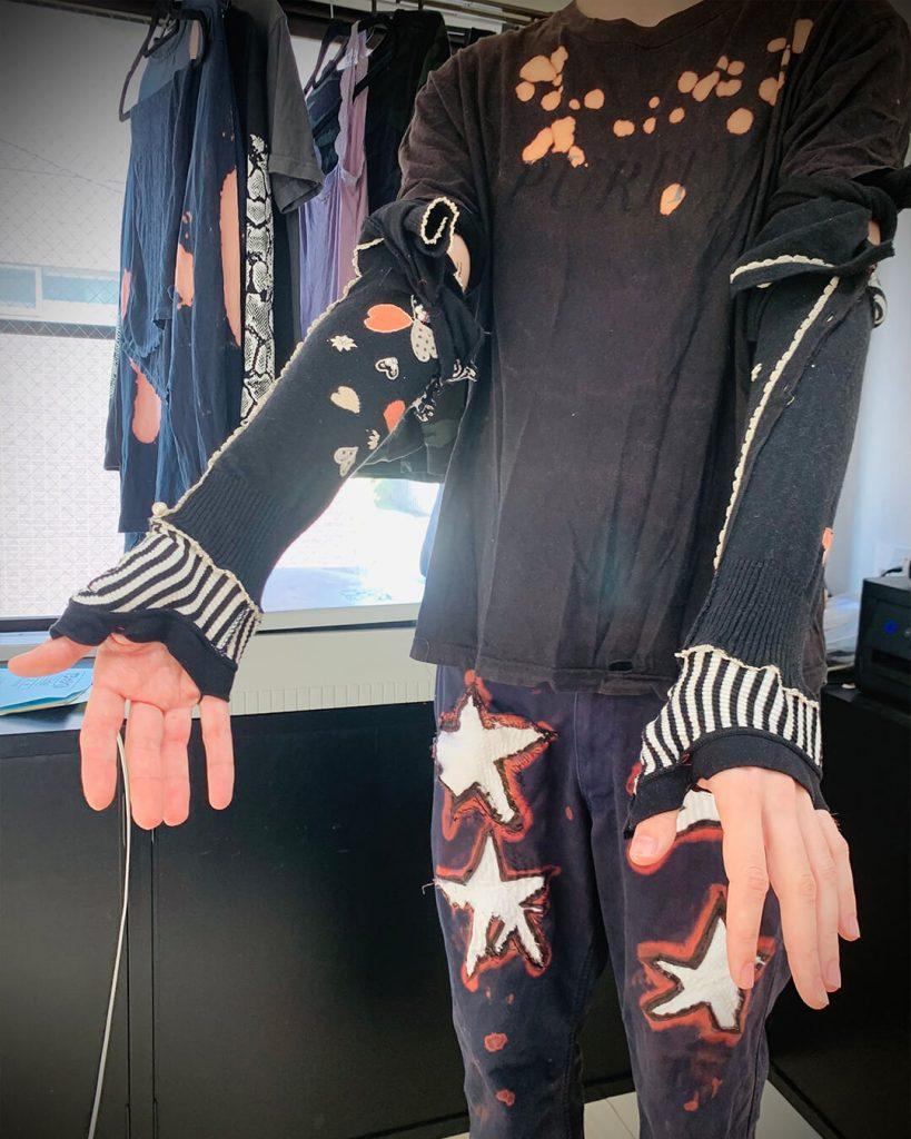 chorareii_felixidle_clothes_upcycling_setsu_arcover_black