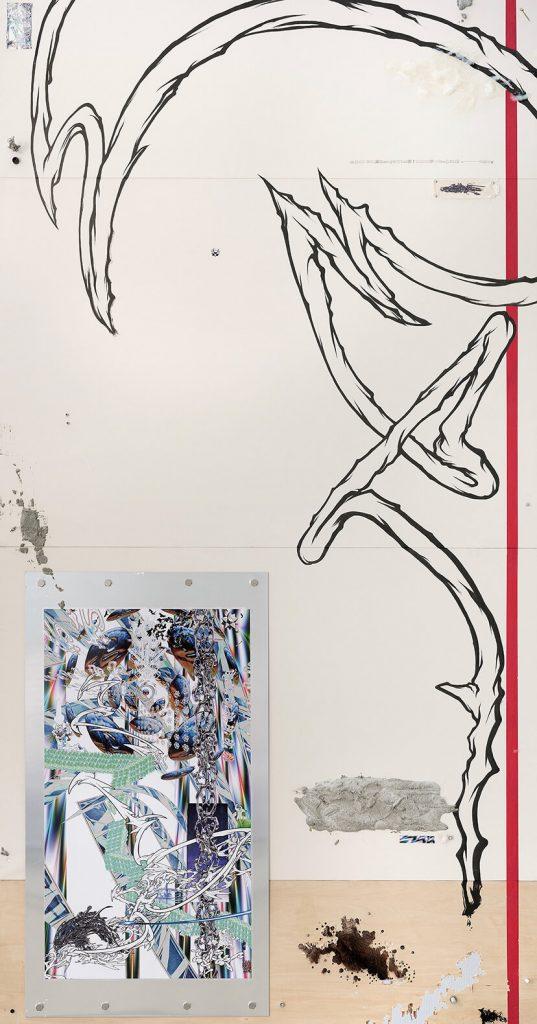 chorareii_gillochindoxgillochindae_jyu_installation_painting